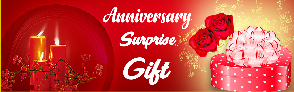 Send Surprise Anniversary Gift Online and Make Your Wife Happy!