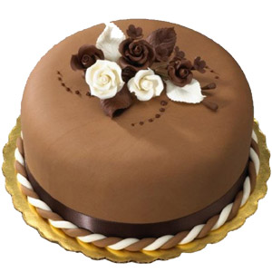 Swiss - 3.3 Pounds Chocolate Round Cake