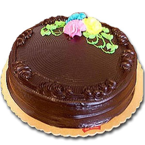 Yummy Yummy - 3.3 pounds chocolate round shape cake