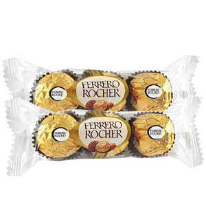 (45) Ferrero Rocher Chocolate - 6 pcs