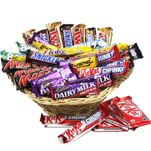 (65) Assorted Choco Lover Basket