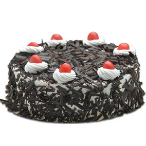 Swiss - 2.2 Pounds Black Forest Round Cake