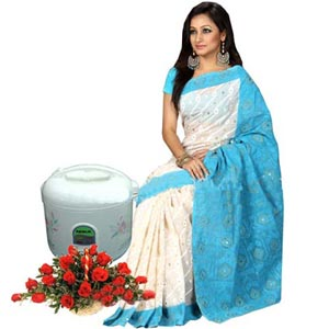 Sharee,Rice Cooker & Flower Basket