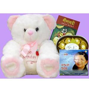 Bear,book,Audio CD W/Chocolates