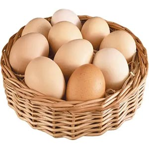 (32)1 Dozen Farm Chicken's Egg
