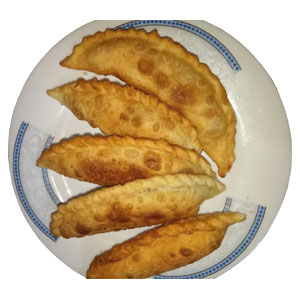 Vegetable Jhal Pitha 5 Pieces